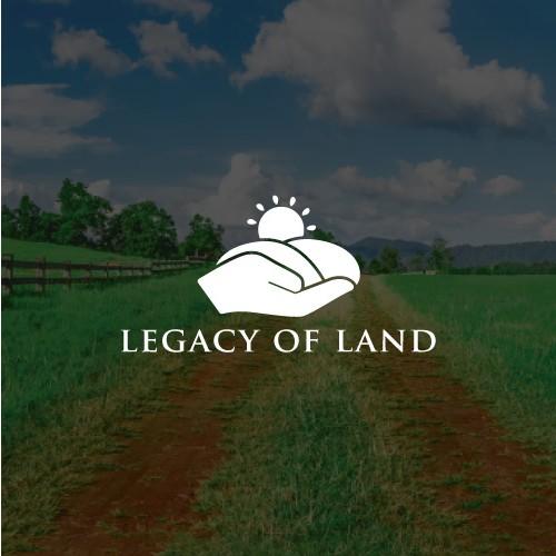 Classic Logo for legacyofland.com