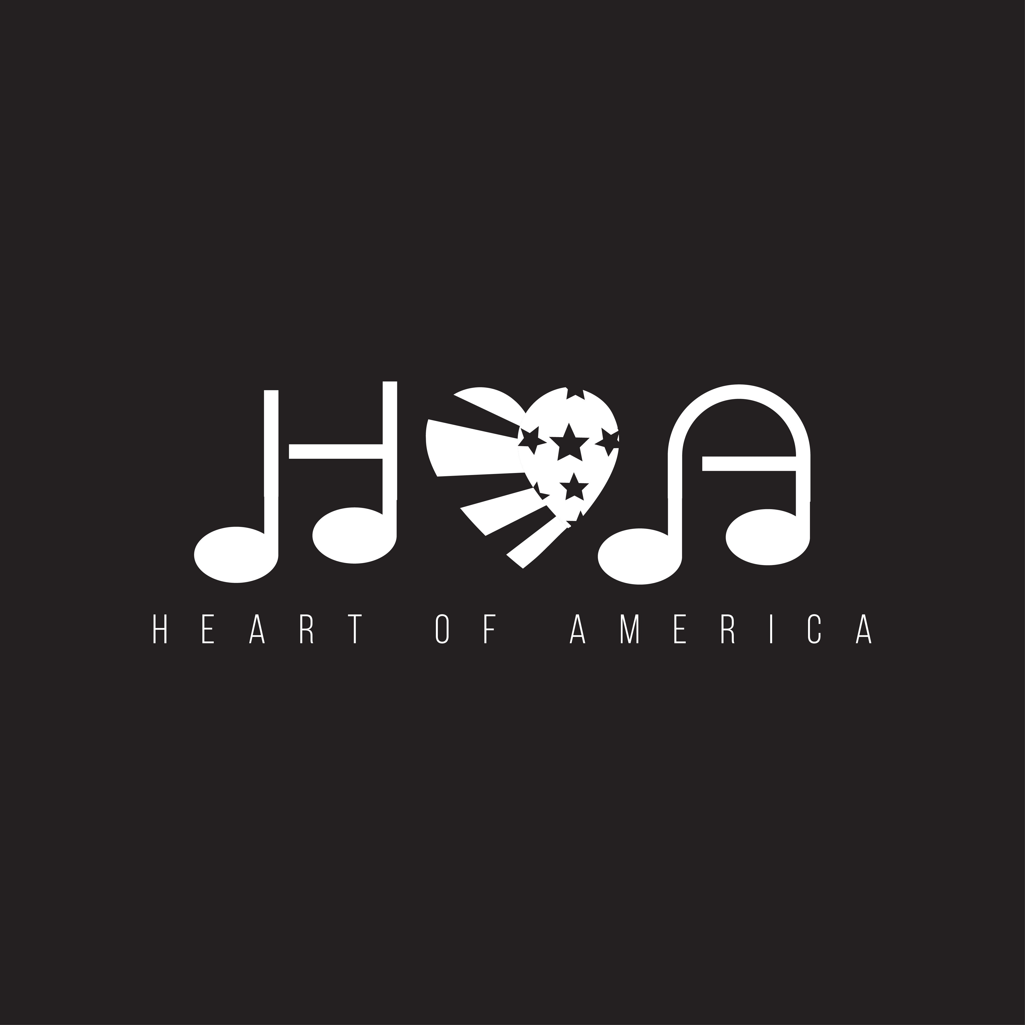 """Except the challenge to create a sleek/cool """"Heart of America"""" logo"""