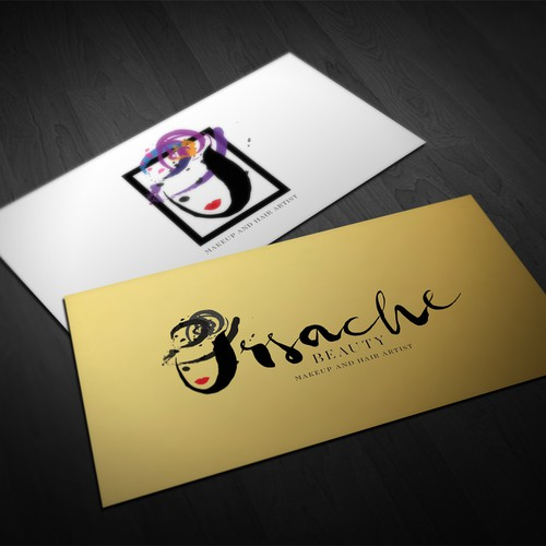 Ursache Beauty logo design