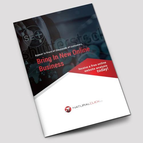modern bifold brochure design