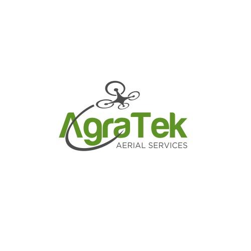 Drone logo for Agratek