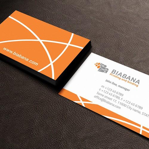 Biz card - Biabana