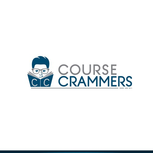 Create a logo for Course Crammers that captures the attention of students, parents and teachers!!!