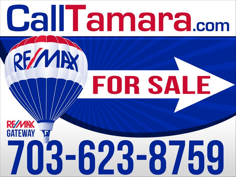 Create the directional signage for RE/MAX Gateway