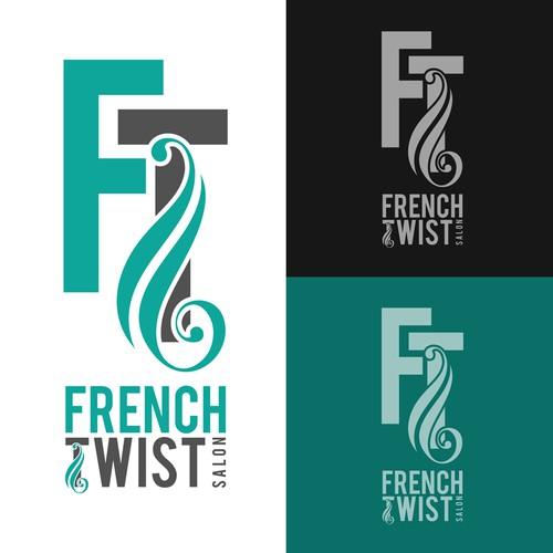 logo for French Twist Salon