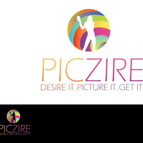 Create the next logo for PicZire