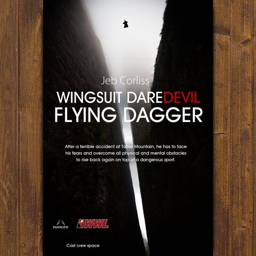 Create jaw-dropping Key-Art (poster) for Wingsuit documentary film.