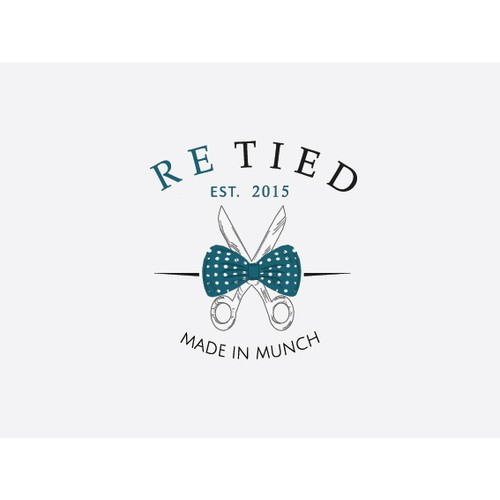 Create a classy bowtie logo for Re Tied!