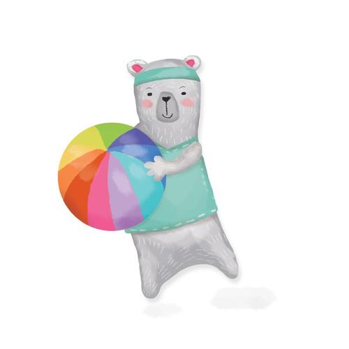 Illustration - bear for kids