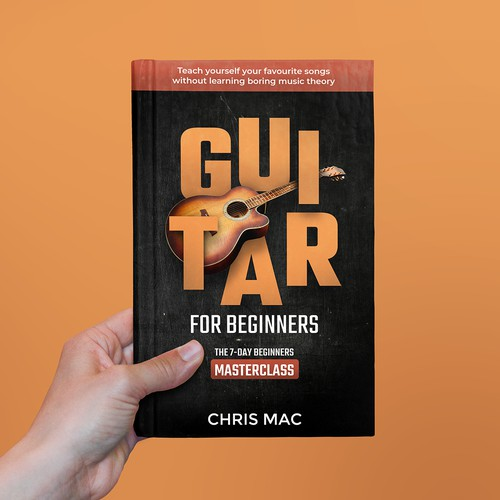 Guitar for Beginners Book Cover