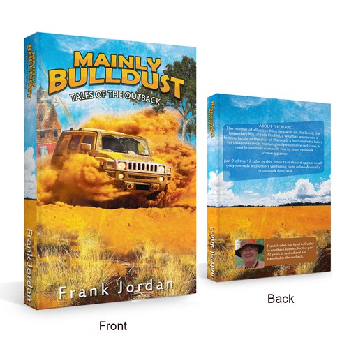 'Mainly Bulldust' paperback cover design