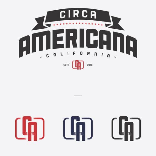 Logo concept for Circa Americana