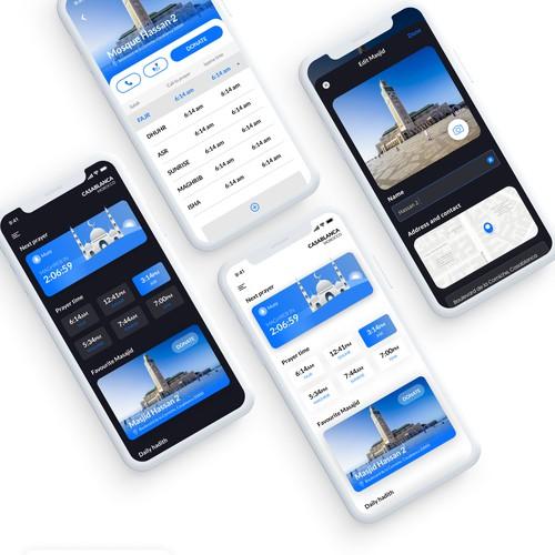 mosque app redesign