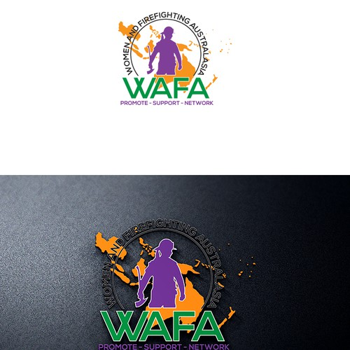 Logo for wafa