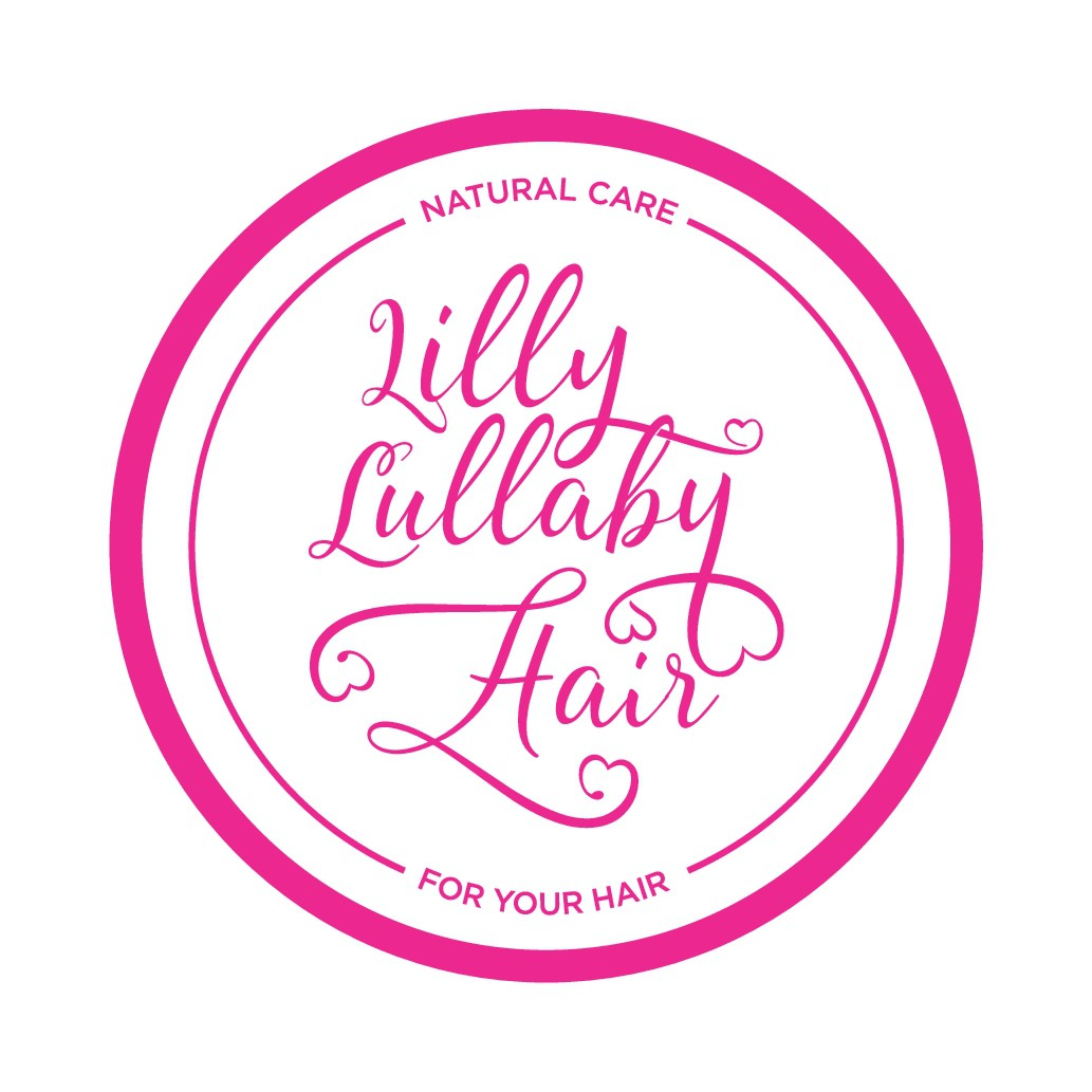 Lilly Lullaby Hair,  needs the best Afro hair logo for all natural hair cosemtic product line