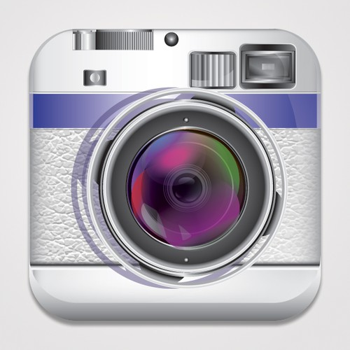 Create an App Icon for iPhone Photo/Camera App