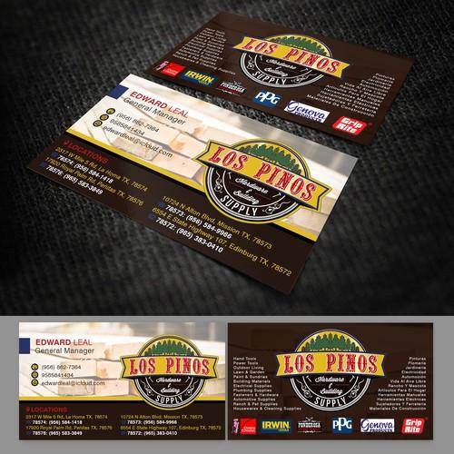 Los Pinos Business Card