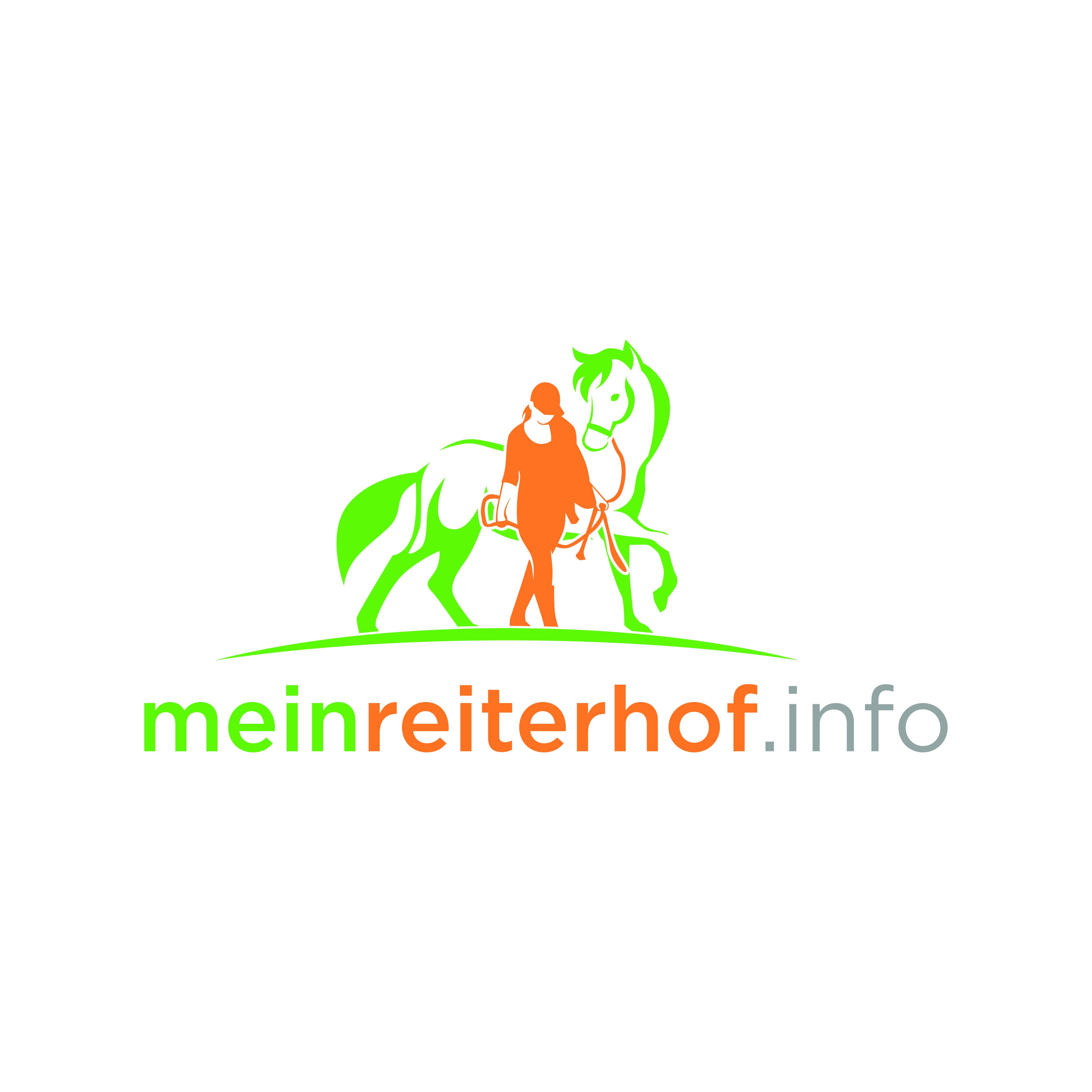 A new logo that will be used on our new search website for horse riding holidays and lessons.
