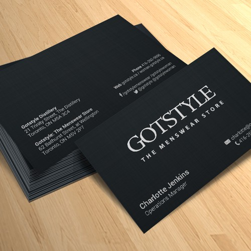 Business Card for Gotstyle