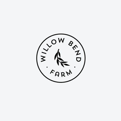 Create a rustic modern logo for our family farm.
