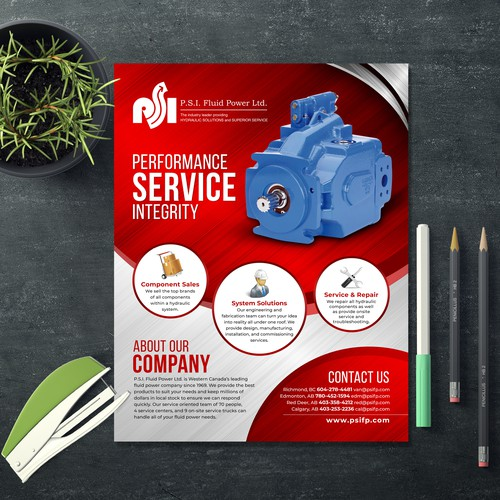 PSI Flyer Design