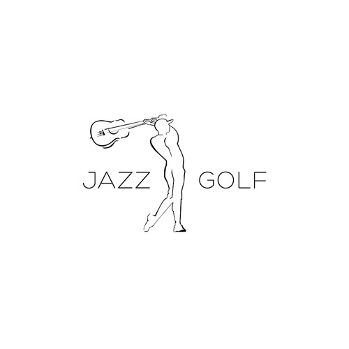 Jazz Golf needs a new, young, cutting edge logo