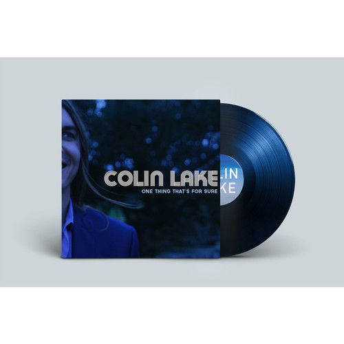 Album Artwork & Website for New Orleans Musician Colin Lake