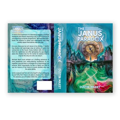 Design for Time-Travel Novel Cover