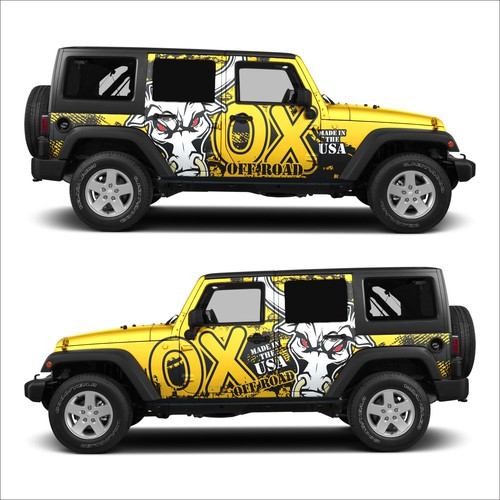wrapping car OX OFFROAD