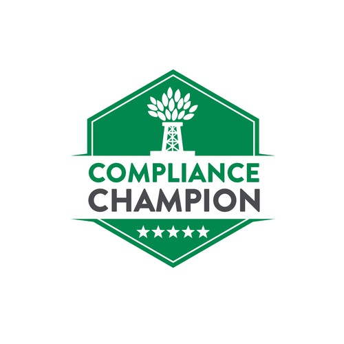 Compliance Champion logo for email signatures