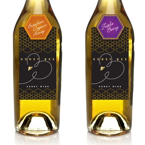 Chic label for Honey Wine