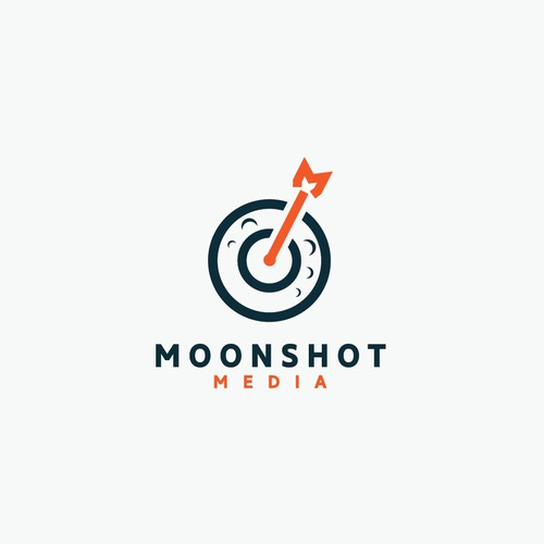 Moonshot Media logo concept