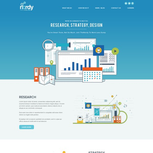 Nordy Website Design