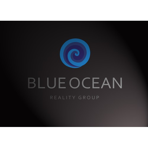 Blue Ocean Realty Group Logo, Business Cards and Letterhead
