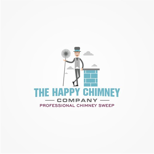Design a hipster - funky Chimney Sweep website!
