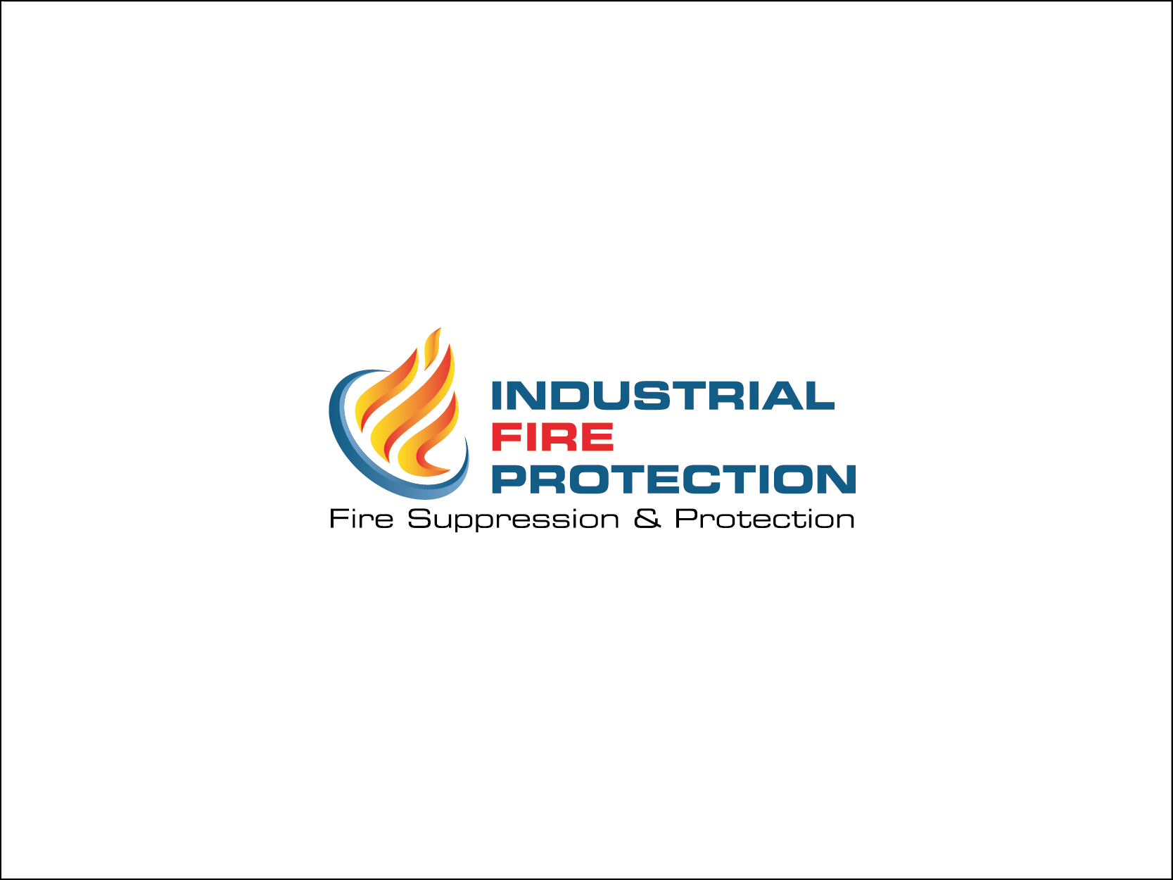 Logo design for national Fire Suppression & Protection services