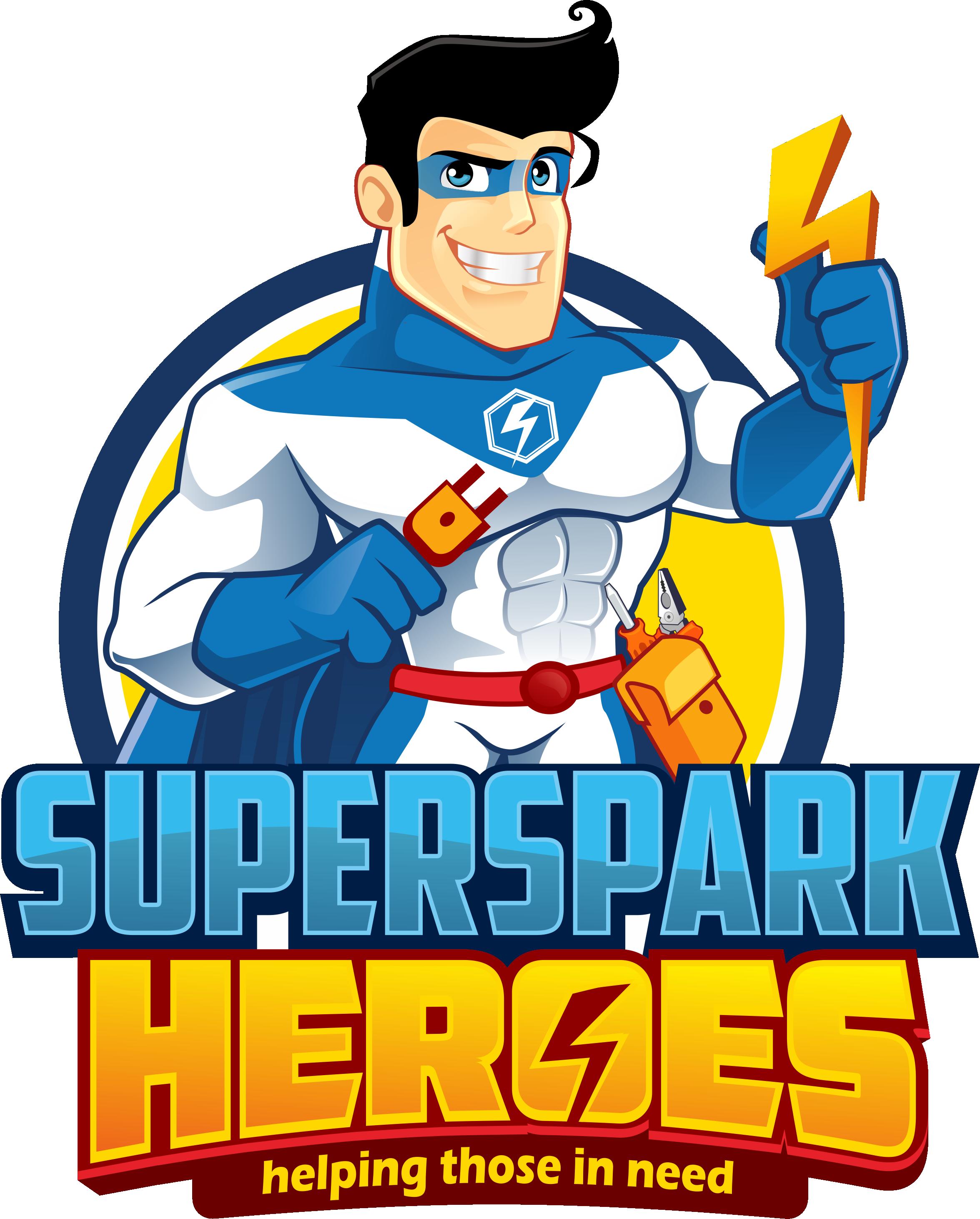 SuperSpark heroes
