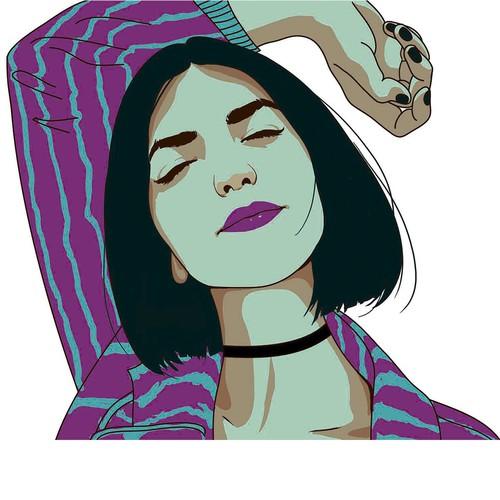 retrato de chica1