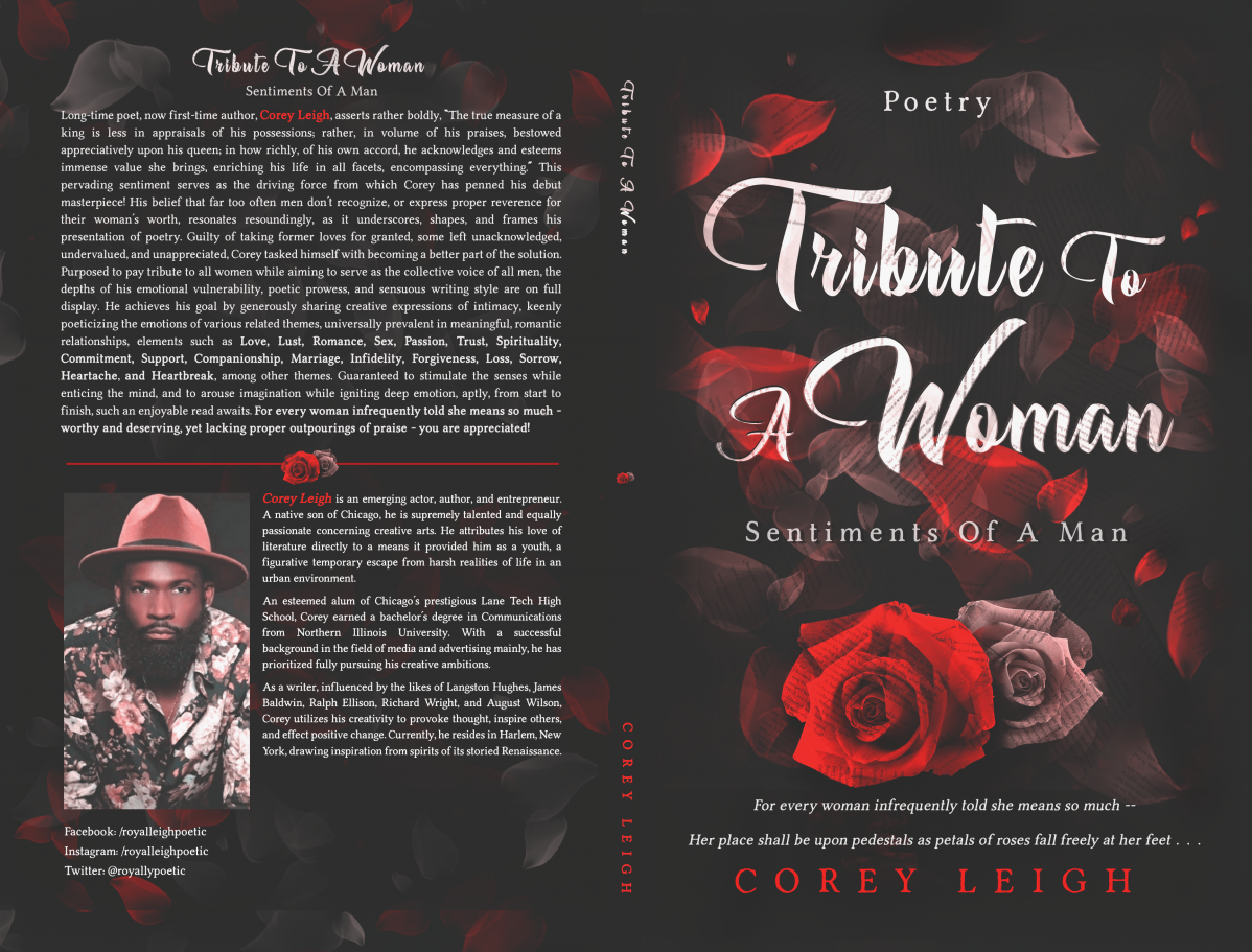 Poetry book to self publish for both printed copy and ebook