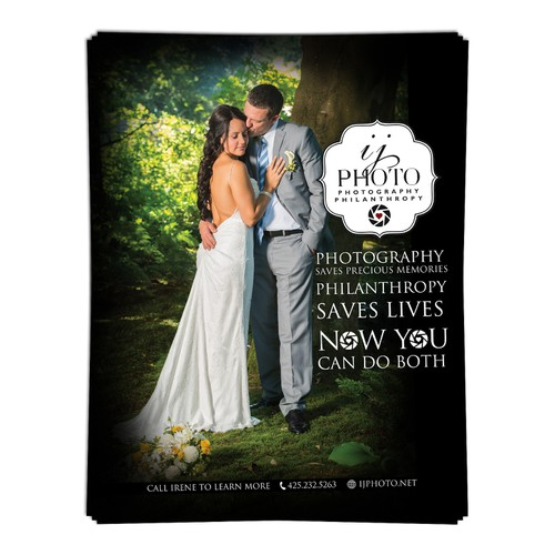 postcard, flyer or print for IJ photo