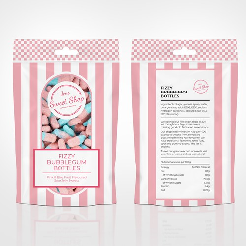 One of kind Bubblegum Candy