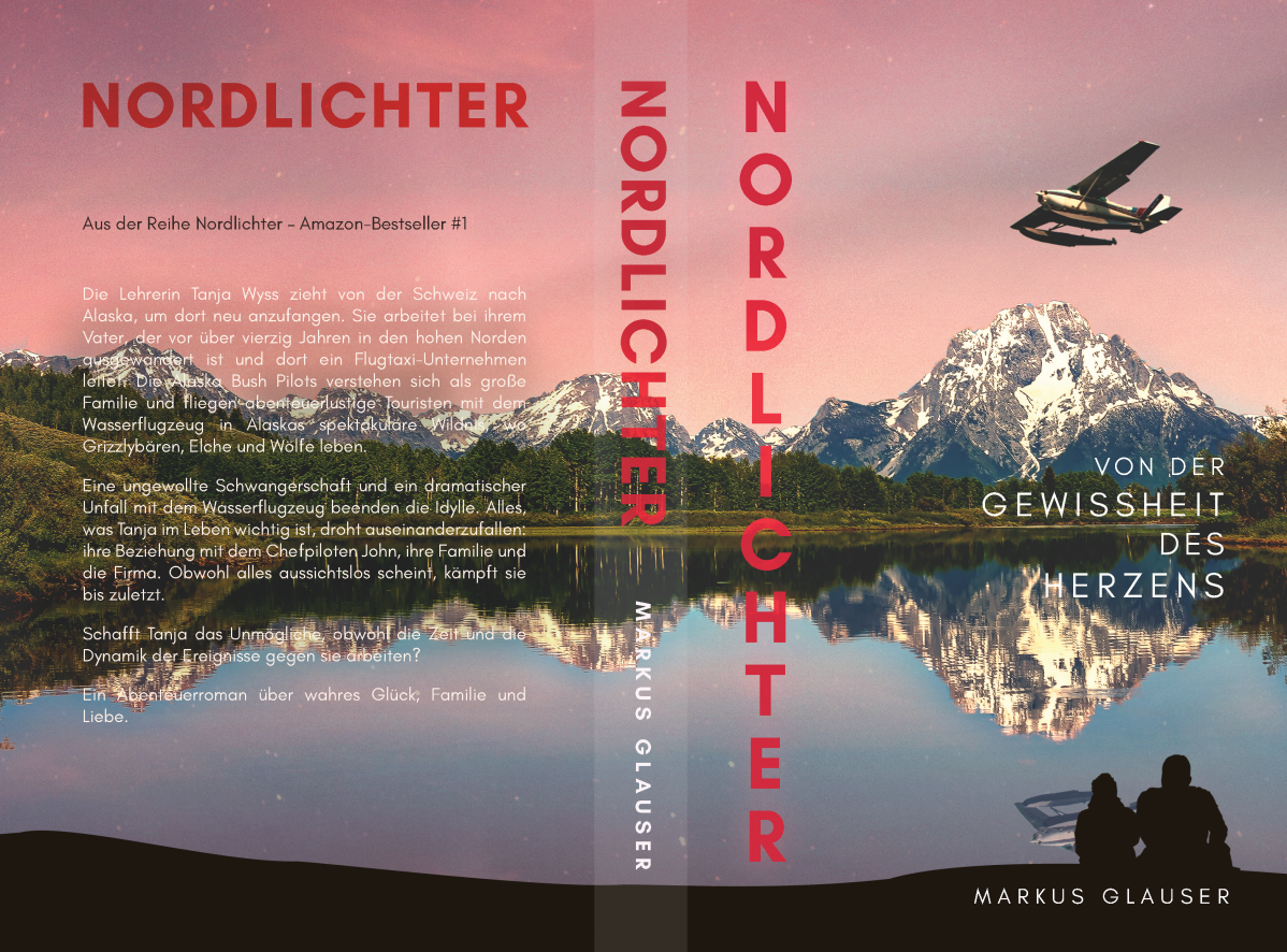 Phase 2:  finalization Cover for E-Book and Print / Nordlichter