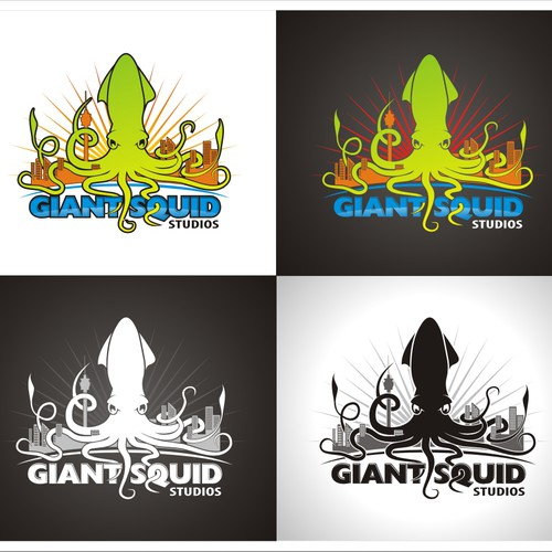 DESIGN OUR BRAND!! Giant Squid Studios