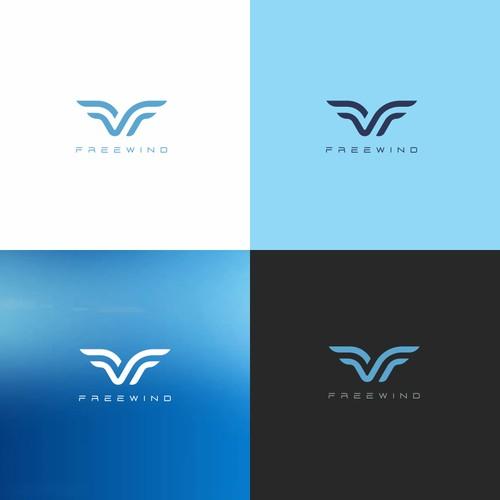 Free Wind Logo design
