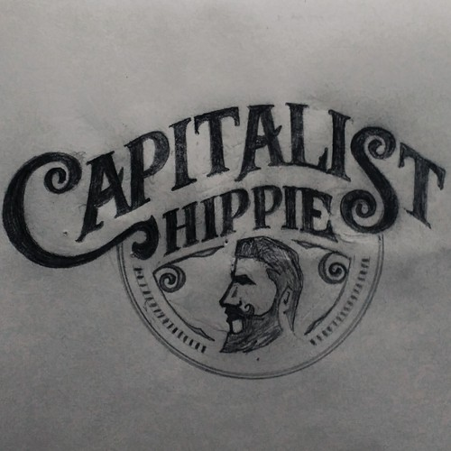 Logo Concept for Capitalist Hippie