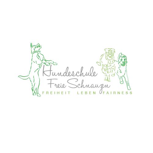 Logoentwurf für Hundetraining