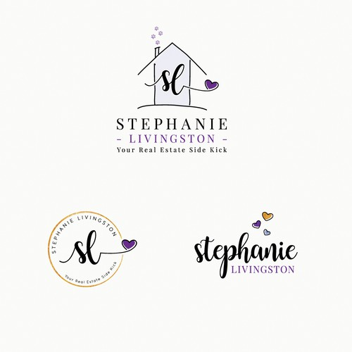 Whimsical logo for realtor