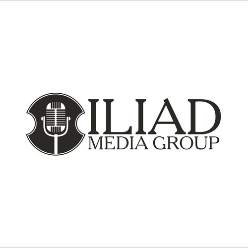 Shield logo for radio media group