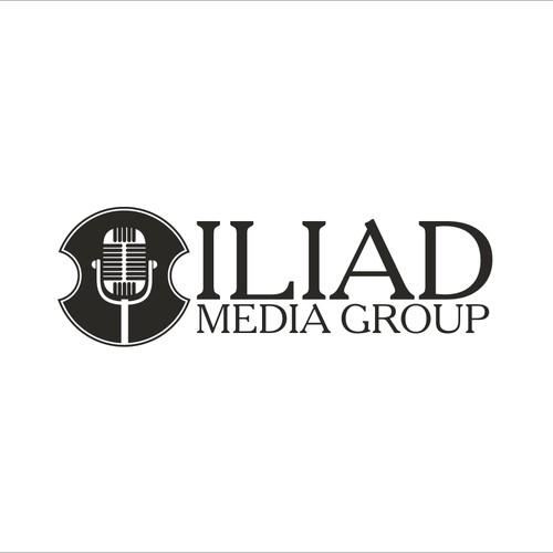 Shield logo for radio media group