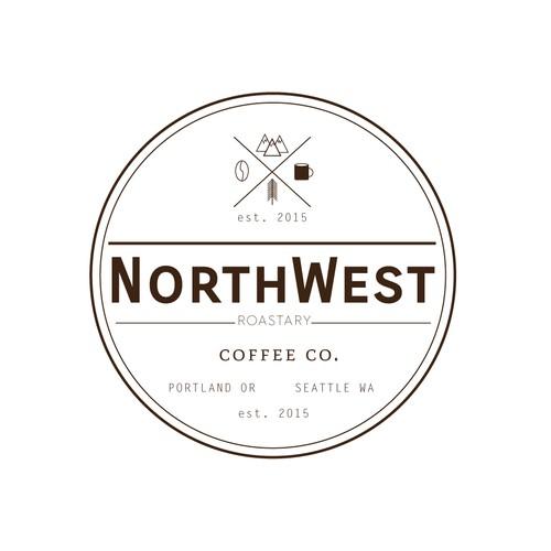 Northwest Coffee Logo Design